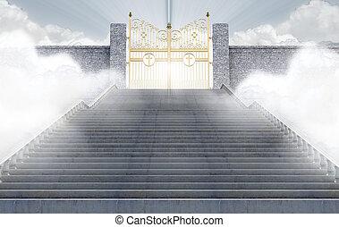 portes, cieux