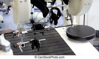 portion, développer, gens malades, fastenings, mécanisme, pieds, en mouvement, ils, être