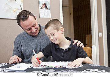 portion, père, devoirs, fils