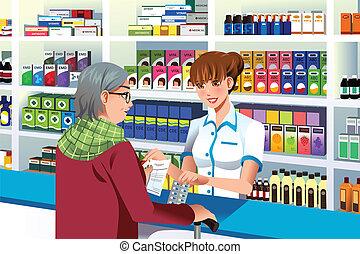 portion, personne, pharmacien, personnes agées