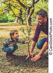 portion, peu, sien, jardin, fonctionnement, garçon, ceci, arbre, père, plante, you!, espiègle, volonté, quoique, ensemble, grandir