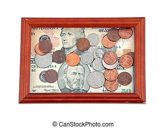 portrait, argent