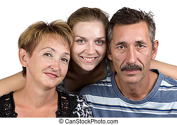 portrait, famille, écurie