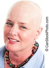 portrait, survivant, cancer