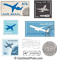 postal, marque