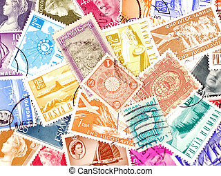 poste, divers, timbres