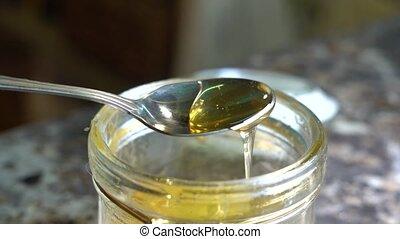 pots, exclusivité, cuillère, miel
