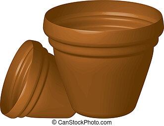 pots fleurs