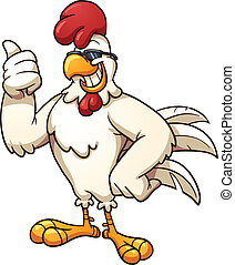 poulet, frais