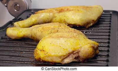 poulet grillé, cuisse