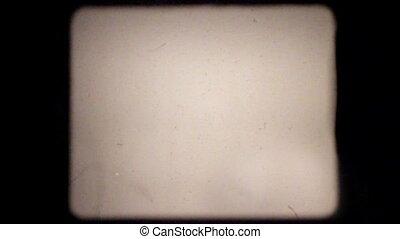 poussière, 4x3, pellicule, grattements