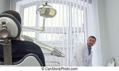 prépare, patient, rendez-vous dentiste