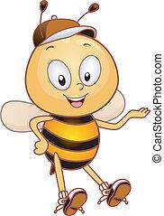 présentateur, abeille