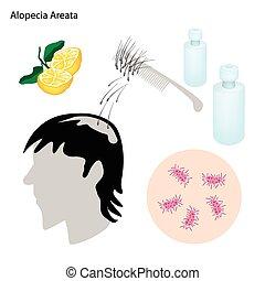 prévention, maladie, traitement, areata, alopécie