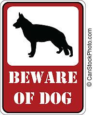 prendre garde, chien