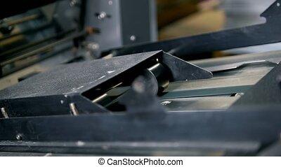 presse, équipement, impression, typographie, fonctionnement