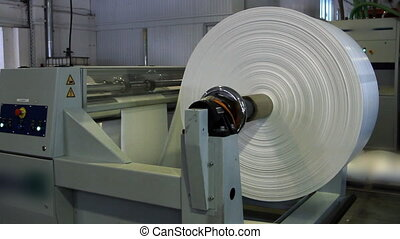 presse, impression, rouleau papier