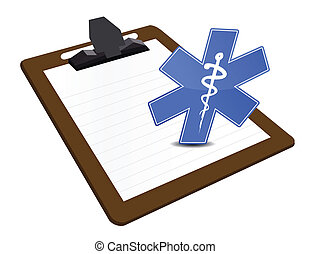 presse-papiers, illustration médicale