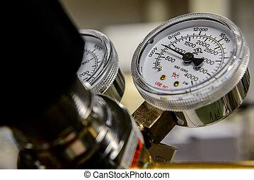 pression, mesure gaz