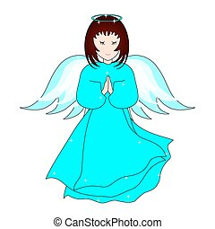 prier, ange