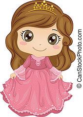 princesse, déguisement