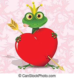 princesse, grenouille