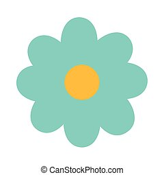 printemps, fond, mignon, fleur blanche
