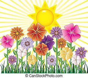 printemps, jour