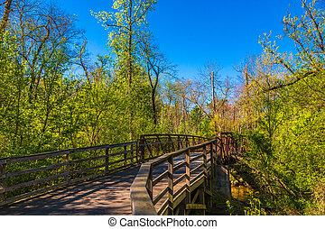 printemps, pont