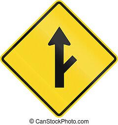 priorité, canada, intersection