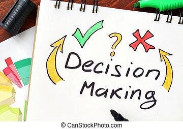 prise décision