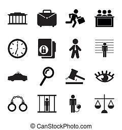 prison, icônes