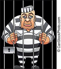 prisonnier, capturé