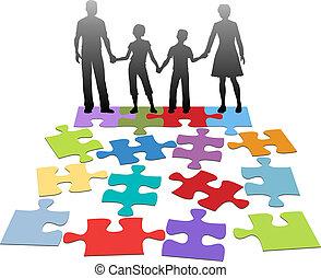 problème, conseil, relation, famille