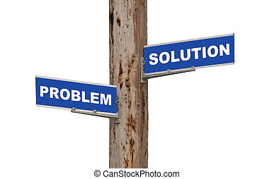 problème, solution, &