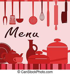 processus, cuisine, kitchenware