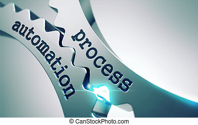 processus, gears., automation