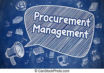 procurement, concept., gestion, -, business