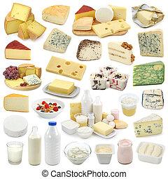produits laitiers, collection