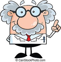 prof, scientifique, idée, ou