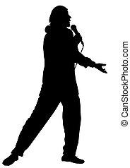 professionnel, chanteur, musicien