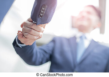 professionnels, reussite, poignée de main