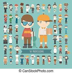 professions, ensemble, 50