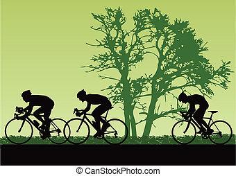 proffesional, cyclistes