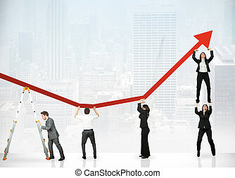 profit, collaboration, constitué