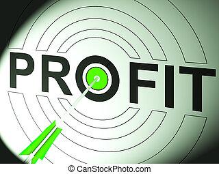 profit, commerce, reussite, business, spectacles