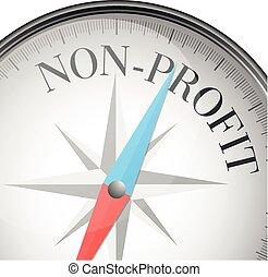 profit, non, compas