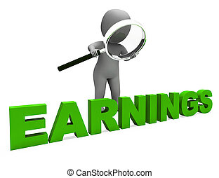 profitable, incomes, revenu, caractère, revenus, gagner, spectacles