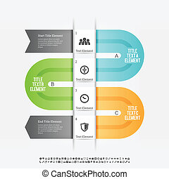 progrès, infographic, pli