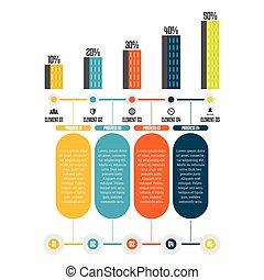 progrès, tour, infographic